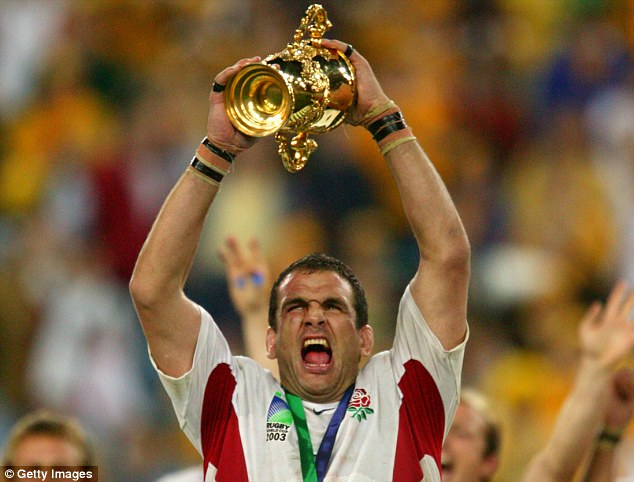 An evening with Martin Johnson