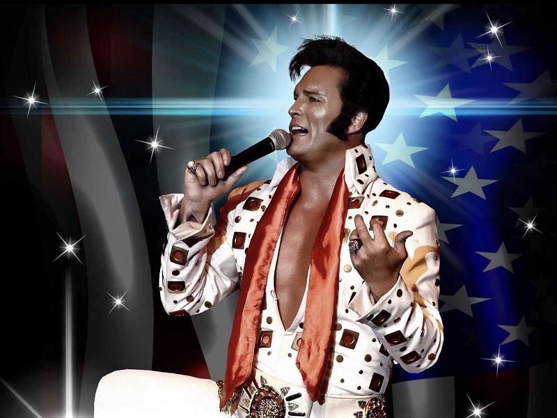Simon Patrick presents 'Elvis in concert'