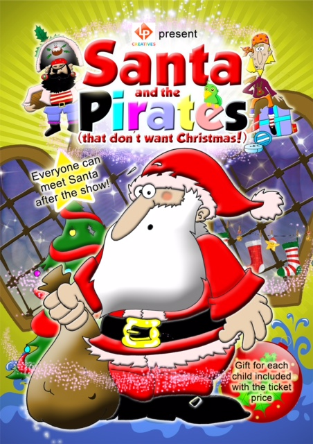 Santa and Pirates (that don't want Christmas)