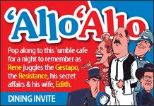 Allo Allo-Dining Experience