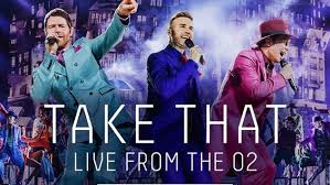 Take That live at the O2