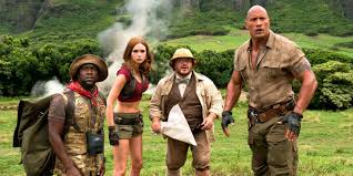 Jumanji:Welcome to the Jungle