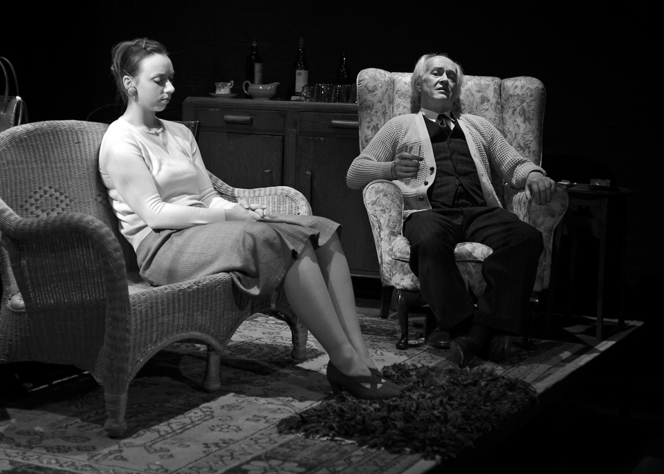 Michaela Fuller and Richard Fife in The Entertainer, 2013
