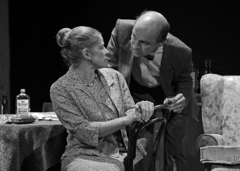 Maeve Doggett and Daniel Bryant in The Entertainer, 2013
