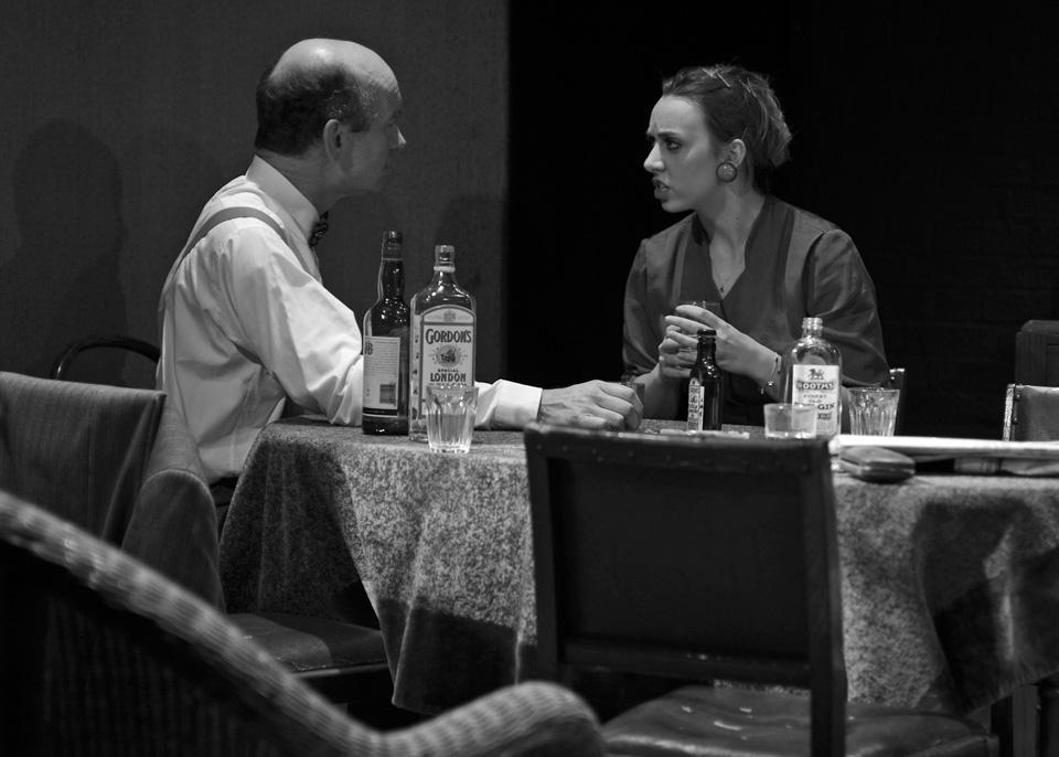 Daniel Bryant and Michaela Fuller in The Entertainer, 2013