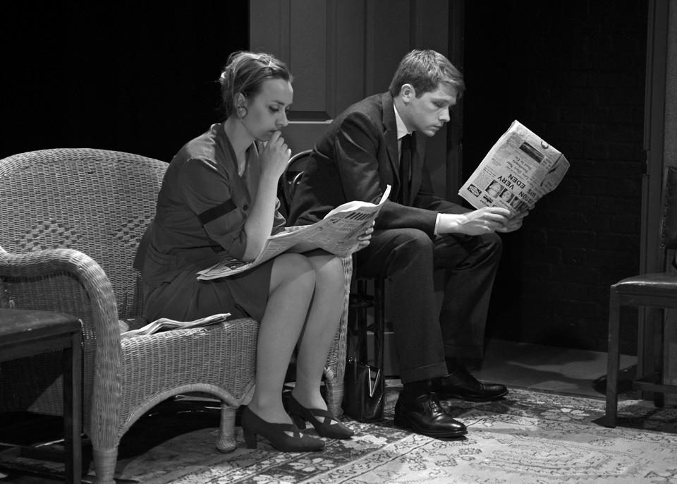 Michaela Fuller and Richard Minkley in The Entertainer, 2013