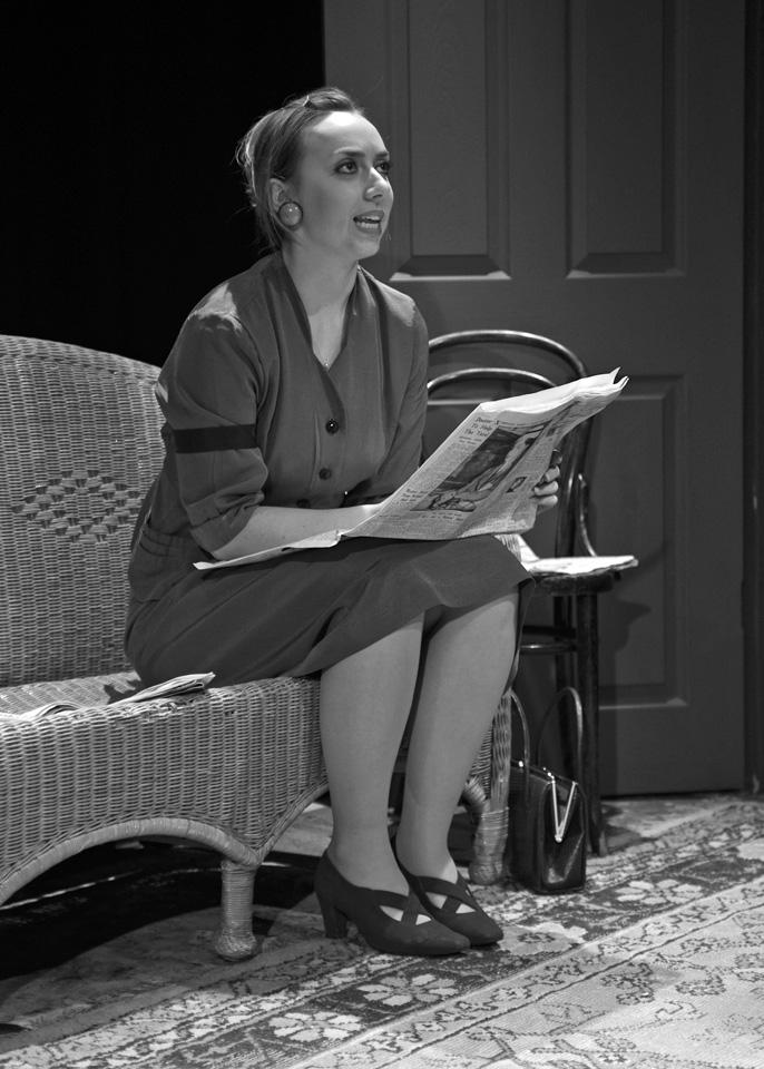 Michaela Fuller in The Entertainer, 2013