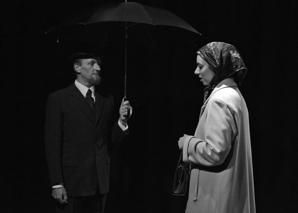 Robert Chilton and Michaela Fuller in The Entertainer, 2013