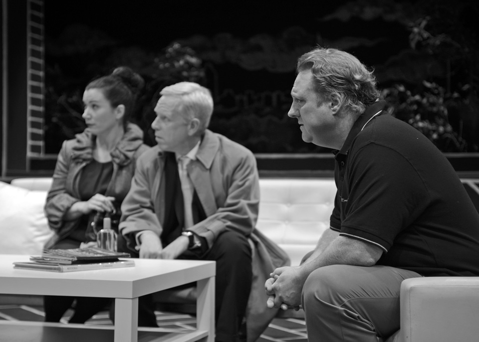 Emma, Fraser and Hugh in God of Carnage, 2013