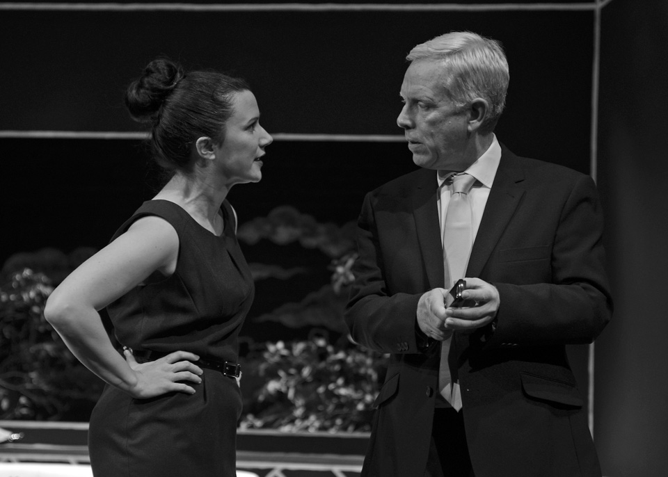Emma Nash and Fraser Wanless in God of Carnage, 2013