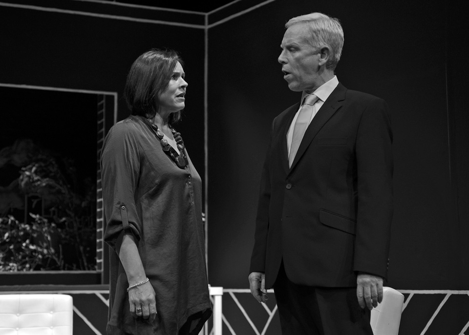 Sarah Taylor and Fraser Wanless in God of Carnage, 2013