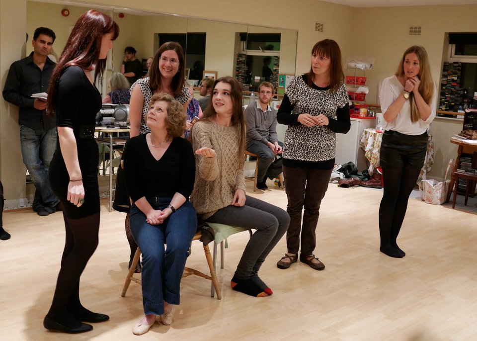 Kareena, Anne, Clara, Emma, Jemma and Charlie, Anne Boleyn, 2013