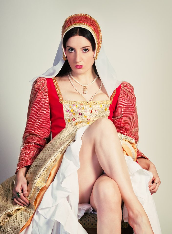 Kareena Sims as Anne Boleyn, 2013 (Focus And Shoot Photography)