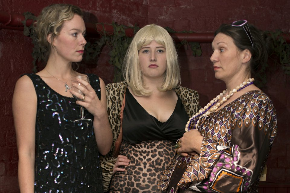 Tamzin, Heidi and Amber in The Regina Monologues, 2013