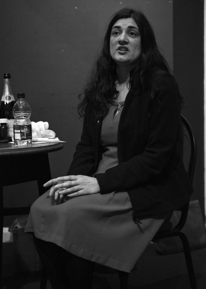 Clare Choubey in The Regina Monologues, 2013