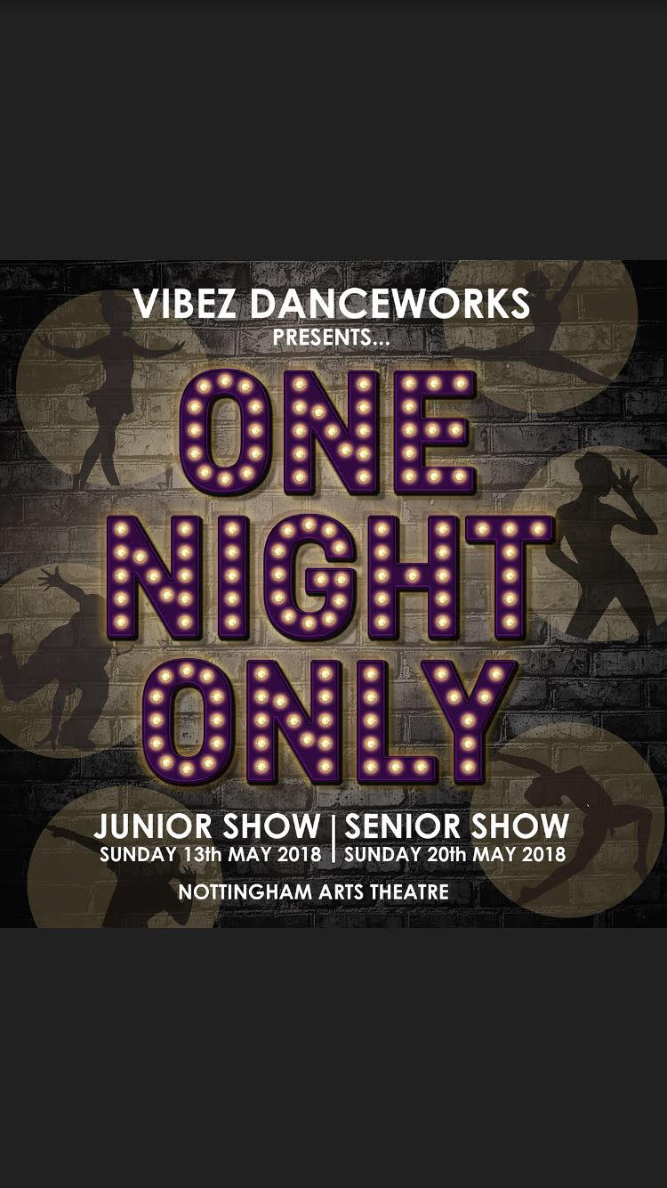 One Night Only Jr Show