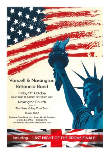 Yarwell & Nassington Britannia Band: An American Prom Concert