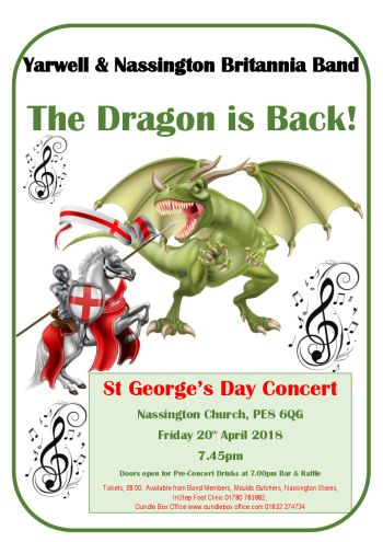 The Dragon Is Back - St George's Day Concert