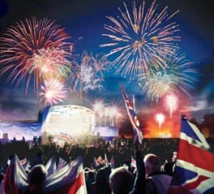 Burghley House Battle Proms Concert 2018
