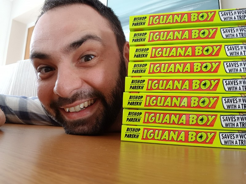 James Bishop: Iguana Boy Event