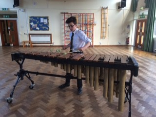 Lunchtime Recital, George Garnett, percussion