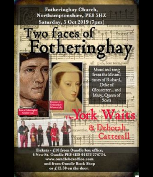York Waits: Two Faces of Fotheringhay