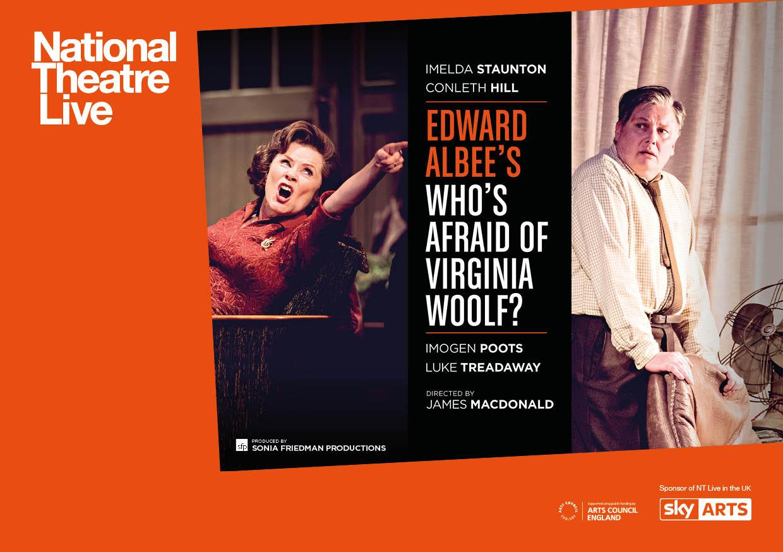 NT Whos Afraid  Virginia Woolf