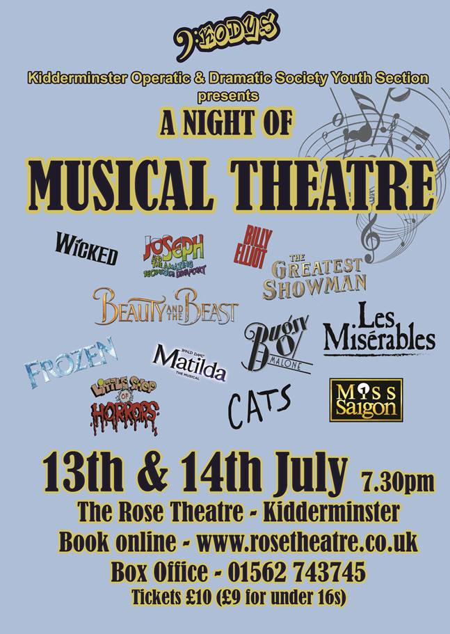 KODYS A Night Of Musical Theatre