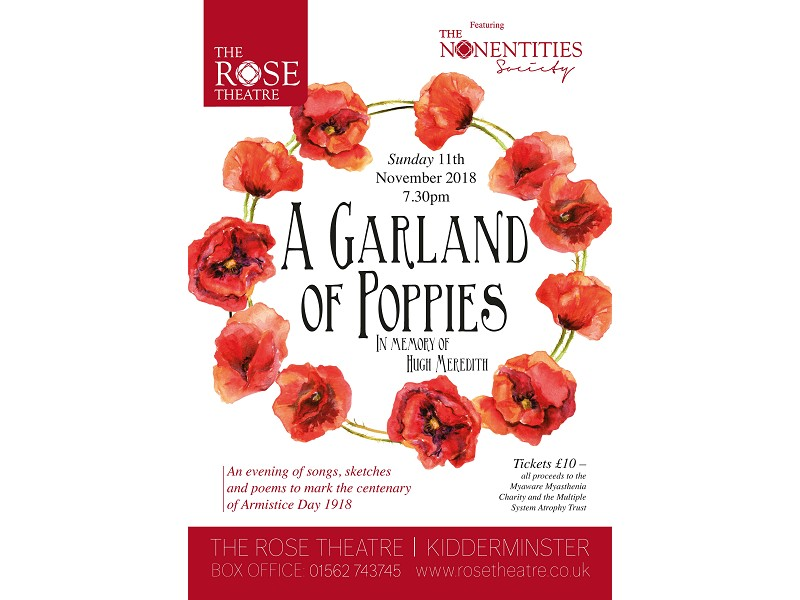 A Garland Of Poppies