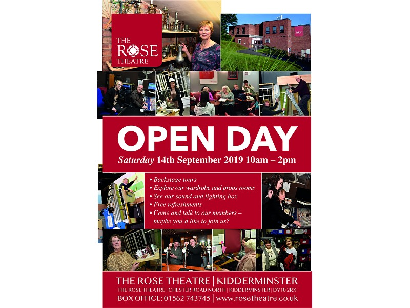 Open Day At The Rose