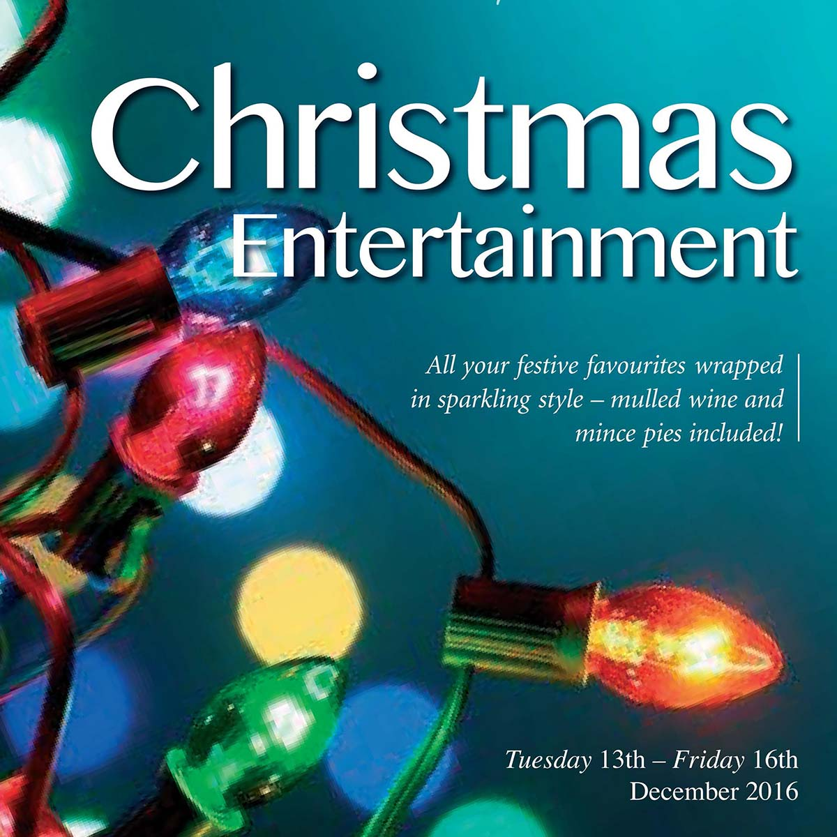 Christmas Entertainment 2016