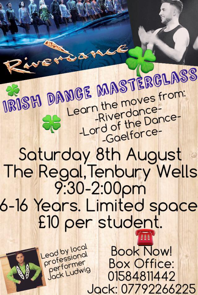 Irish Dance Masterclass