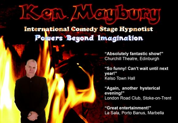 Ken Maybury - Comedy Hypnotist - Cancelled by promoter