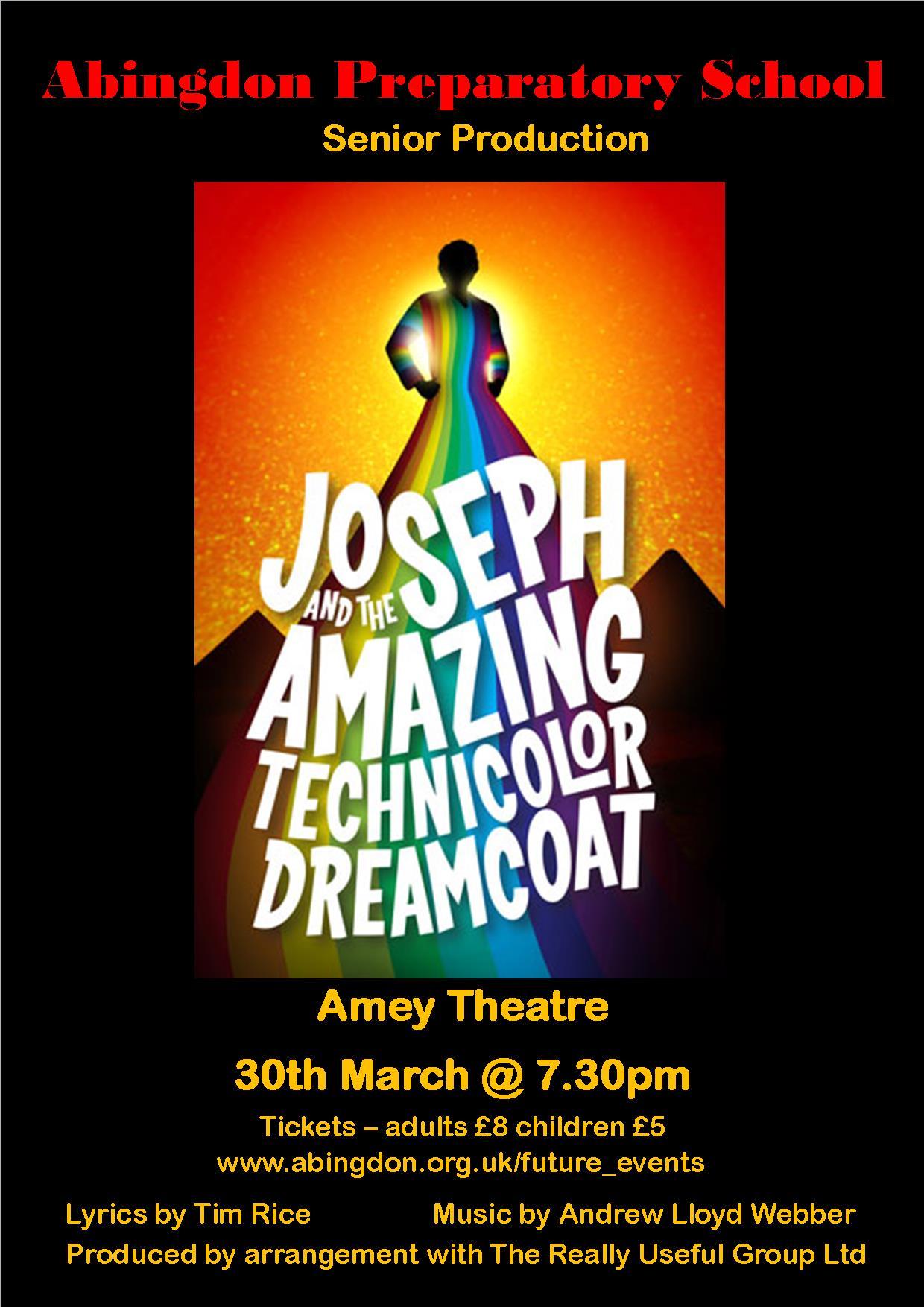 Abingdon Prep: Joseph and the Amazing Technicolor Dreamcoat
