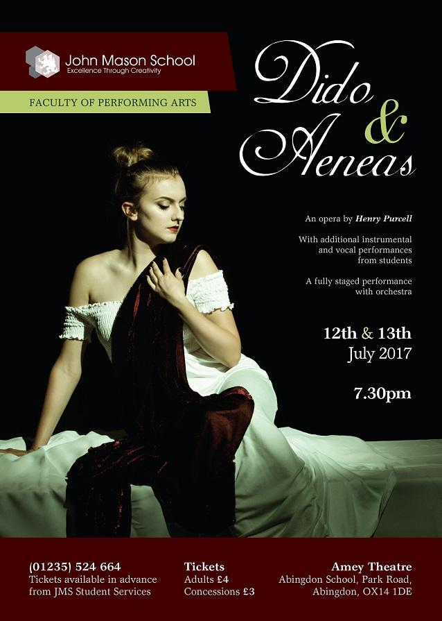 John Mason School: Dido and Aeneas