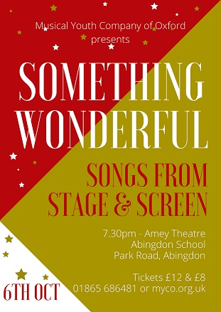 """Musical Youth Company of Oxford presents """"Something Wonderful"""""""