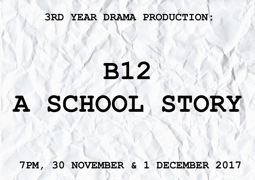 B12 - A School Story