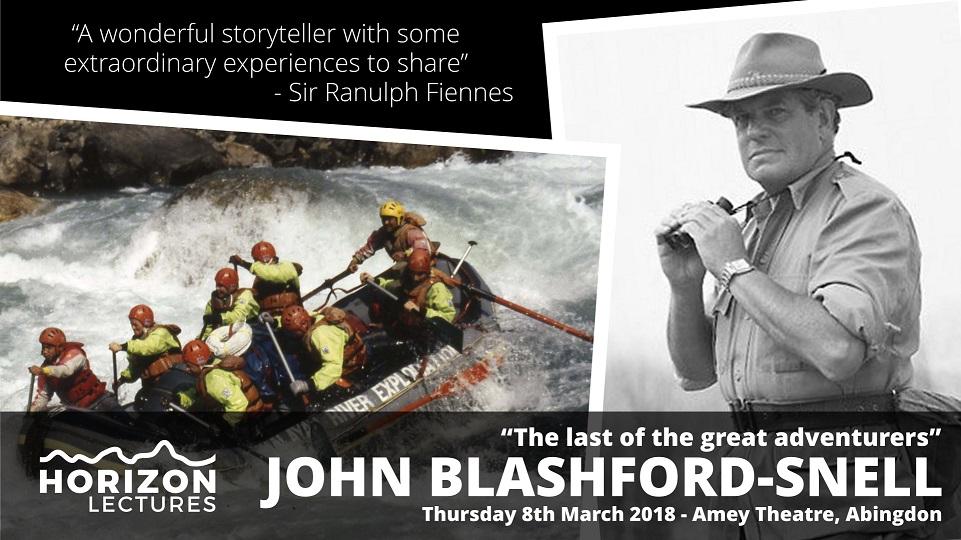 Horizon Lectures: John Blashford-Snell