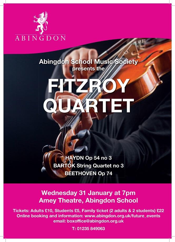 Fitzroy Quartet Concert