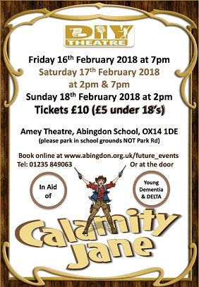 DIY Theatre Present: Calamity Jane