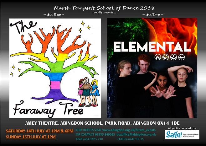 "Marsh Tompsett School of Dance: ""The Faraway Tree"" / ""Elemental"""