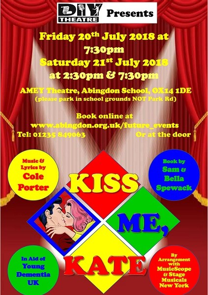 DIY Theatre Presents: Kiss Me, Kate