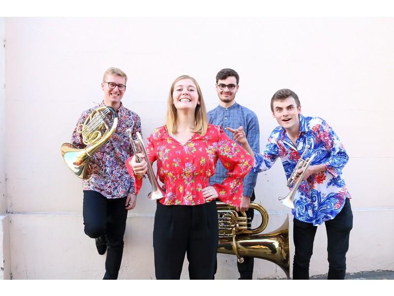 Menine Brass Quartet Concert