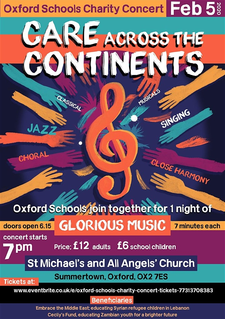 Care across Continents - an Inter-School Charity Concert