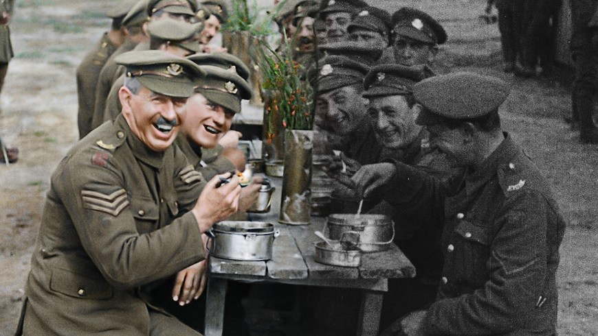 They Shall Not Grow Old 2D main image