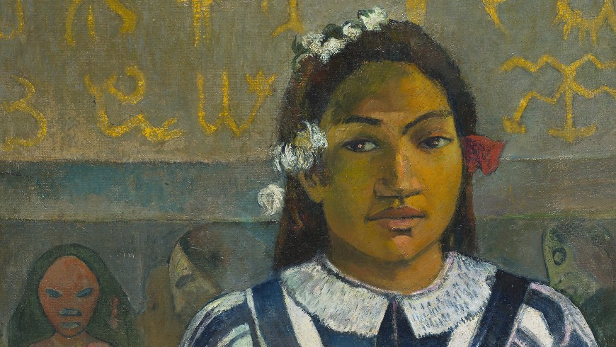 Gauguin from the National Gallery London