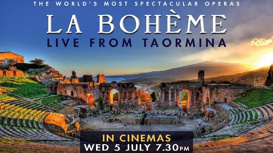 La Bohème: Live From Taormina 2017