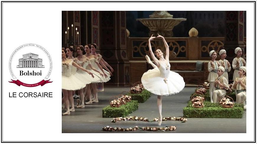 Bolshoi 17/18: Le Corsaire