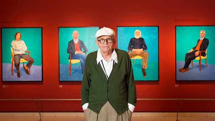 Exhibition: David Hockney at the Royal Academy Of Art