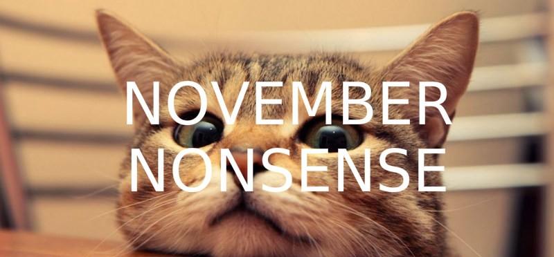 November Nonsense image